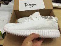 350 Boosts All White YZY Boost 350 Low Kanye West Casual sho...