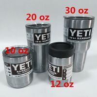 YETI Cups Yeti Rambler Tumbler Stainless Steel 10 12 20 30 o...