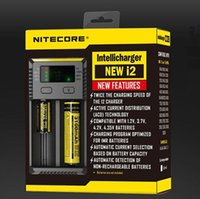 Nitecore I2 Chargeur universel adapter 18350 18650 14500 26650 E Cigarette mods Batterie Multi Function Intellicharger US UK UE AU PLUG FJ011