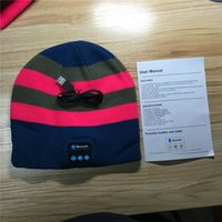NEW Soft Warm Beanie Bluetooth Music Hat Cap with Stereo Hea...