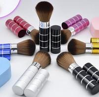 500 pcs Brand New Blush Powder Retractable Cosmetic Brush Mu...