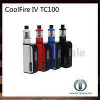 Innokin Coolfire IV TC 100 Kit avec Cool feu IV TC100 3300mAh TC 100W Mod Batterie Aethon Chipset 3ml iSub V Réservoir 100% Original