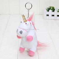 20pcs lot 16cm Unicorn Pendant Despicable Me Plush Toy Stuff...