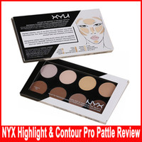 NYX Highlight & Contour Pro Pattle Review Contour KIT Highli...