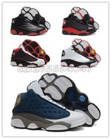 Wholesale Casual Shoes Retro XIII French Blue Bred Basketbal...