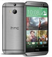 Восстановленное Оригинальный HTC One M8 разблокирован телефон ROM 32 ГБ ОЗУ 2 ГБ 5 '' Quad Core 4G FDD-LTE 3G WCDMA 2G GSM