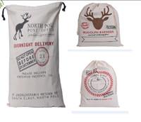 Christmas Santa Claus bag gift bag drawstring Gift Bag Chris...