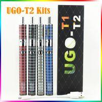 2016 NEWEST UGO- T2 electronic cigarette kits Airflow Control...