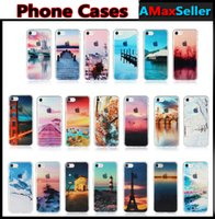 For iphone 7 plus Beautiful Scenery IMD Phone Cases TPU Rubb...