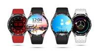 Kingwear KW88 3G Smartwatch Android 5.1 1.39 pouces Amoled Écran MTK6580 Quad Core 1.39GHz 512 Mo de RAM 4 Go ROM Capteur de gravité GPS Bluetooth 4.0
