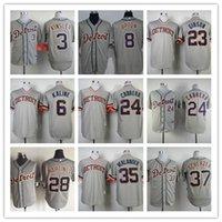 Wholesale Detroit Tigers 24 Miguel Cabrera 35 Verlander 37 S...