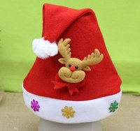 New Style Christmas Caps Kid' s Hats Event & Party Suppl...