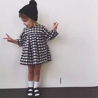 Hot sale Kids 2016 new winter classic black and white plaid ...