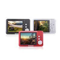 """CDFE HD Digital Camera 18MP 2.7 """"Smile Capture TFT dello zoom 8x Anti-shake Video Camcorder D2161"""