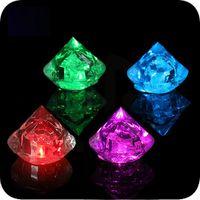 By DHL Free 600pcs lot Multicolor LED Luminous ice cube, diam...