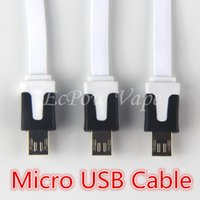 Flat USB Cable eCig Chargers Cable 21CM For Electronic Cigar...