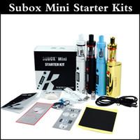 Высокое качество Subox мини стартовый комплект 50W мод субтанка мини-танк KBOX стартовый комплект 50W мод субтанка kangertech