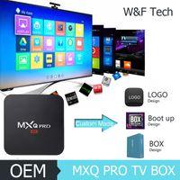 Quad Core MXQ PRO Android TV Box 4k Amlogic S905 Android 5. 1...