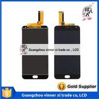 Full LCD DIsplay + Touch Screen Digitizer Remplacement de l'Assemblée Pour Meizu M2 Note M571H M571M M571C M571U / Meilan Note 2; Noir