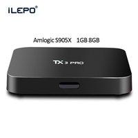 TX3 Pro A905X 4K Android Box Streaming Media Player 1G 8G Ko...