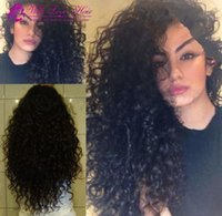 Hot Indian curly lace front wigs Indian hair human hair wigs...