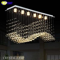 K9 Crystal Chandeliers LED GU10 Chrome Finished Crystal Wave...