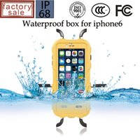 Cartoon Waterproof Hybrid Cases For iPhone 6s 6 Plus Underwa...