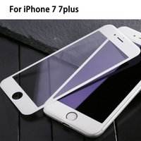 Iphone 7 plus 9H Full Cover Tempered Glass for iPhone 7 Scre...