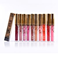2016 KylieLip Birthday Edition Rouge à lèvres mat métal de Kylie Jenner 12 coloris 0.11 fl oz./oz. Liq / 3.00ml chaque Haute qualité DHL MR005