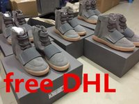 """DHL Free Shipping 2016 Kanye West 750 Boost """" Light Grey..."""