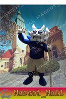 MALL144 The Blue Devil Mascot Costume Theme Mascotte Fancy D...
