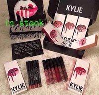 In Stock Kylie Lip Gloss Lipstick Kylie Jenner lip Kit & Lip...