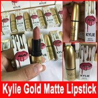 Kylie Lip Kit by kylie jenner Velvetine Matte Lipstick Lip G...