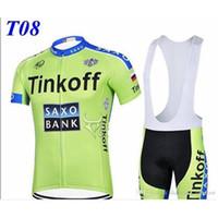 0. 12 ITEMS Tinkoff saxo bank cycling jerseys tour de france ...