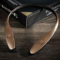 HBS900 HBS-900 Wireless Sport Neckband Casques intra-auriculaire Bluetooth casque écouteurs stéréo Pour iphone5 6 plus de ear009 Galaxy S4 5S