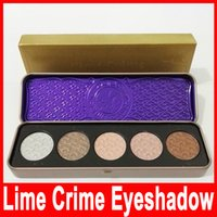 2016 Newest Lime Crime unicorn 5 colors high- grade eye shado...