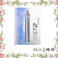 100% Original Eleaf Ijust2 kit de démarrage 2600mah batterie 5.5ml atomiseur Subohm 30W-80W Ijust2 kit VS Joyetech bestvaporseller