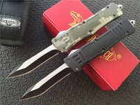 Microtech Combat Troodon Recurve Knife double action Aluminu...