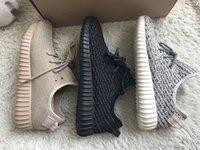 Kanye West 350 Boost Shoes Pirate Black White Oxford Tan Moo...