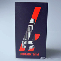Kang subtanque mini-OCC atomizador 4,5 ml 12W-30W Kang depósito secundario 510 Tema adaptarse Istick 30W 50W Batería ESP SUB