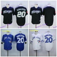 Josh Donaldson Jersey BLACK FASHION Toronto Blue Jays Jersey...