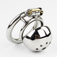 New Small Male Chastity Device 50MM Adult Cock Cage BDSM Sex...