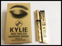 HOT Kylie Jenner Mascara Magique épaisse mascara waterproof mince Black Eye Mascara Long Lasting Les crèmes de cils de couleur noire Livraison gratuite
