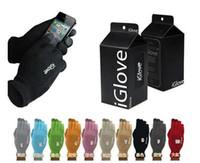 Unisex gants iGlove Smart gants capacitifs écran tactile pour iphone 5 6s 6S plus ipad téléphone intelligent iGloves gants avec le paquet de vente au détail