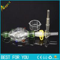 Nectar Collector Perc Pendant Kits with Titanium Nail glass ...
