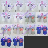 Chicago Cubs #10 Ron Santo #12 kyle schwarber #22 jason heyw...