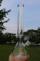 Baker 9mm Bongs 18 pouces tuyau d'eau de verre Avec éléphant Joint Super lourde tuyauterie en verre avec accessoires de fumer