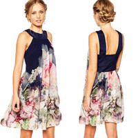 2016 Women' s Fashion New Bohemian Short Summer Dresses ...