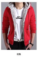 2016 New Winter Mens Cashmere Sweater Hooded Cardigan Coat W...