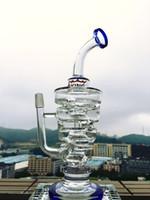 Bong! Nouveau bong en verre de couleur rose Hitman Glass Sundae pile Puits d'huile en verre Hitman tuyaux d'eau épaisseur grand verre robuste avec joint mâle 14,5 mm